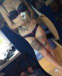 amateur photo Cute lingerie + tattoos.