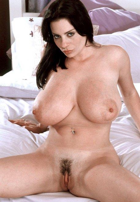 Linsey Dawn Mckenzie on the bed Porn Photo