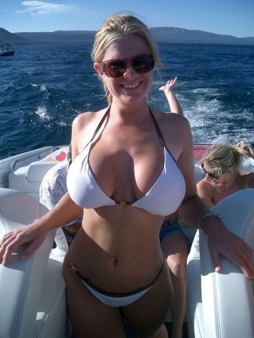 On a boat Porn Photo