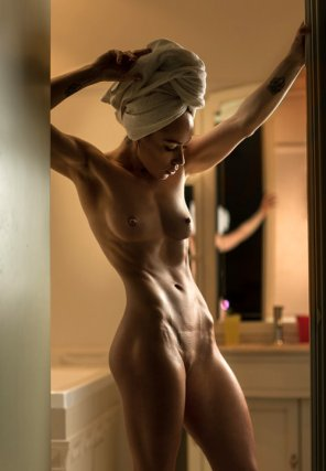 amateur photo After shower...