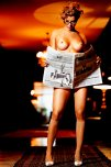 amateur photo Naughty newspaper