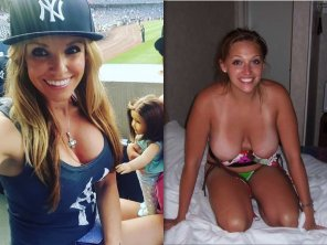 amateur photo Baseball Fan On/Off