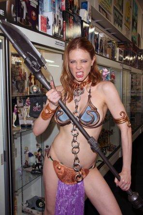 amateur photo Maitland Ward - my cosplay queen