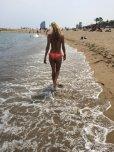 amateur photo Day-Glo beach ass
