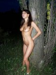 amateur photo Stargazing. Naked, while holding up a tree. In 2006.