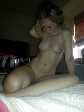 amateur photo Petite blonde with an amazing body.