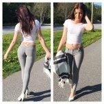 amateur photo Grey Jeans