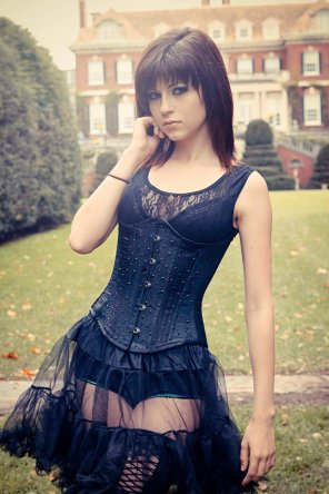 amateur photo Gothic Beauty