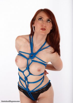 amateur photo Kendra and Shibari