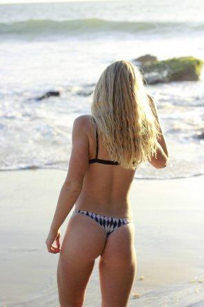 amateur photo Beach ass