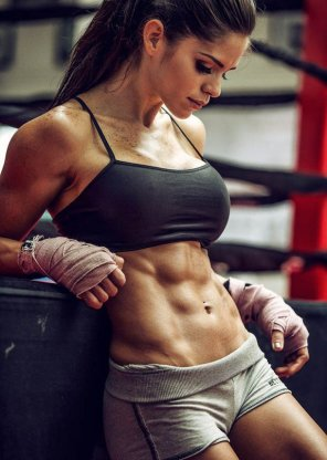 amateur photo Great 6 Packs Abs