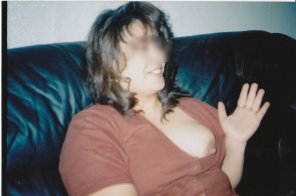 amateur photo Found picture of Mother-in-law. Thought it belonged here.