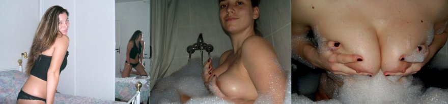 The look, the bath, and the squeeze Porn Photo