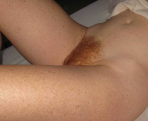 amateur photo Ginger pubes too.