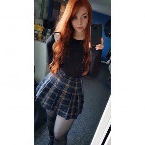 amateur photo School girl