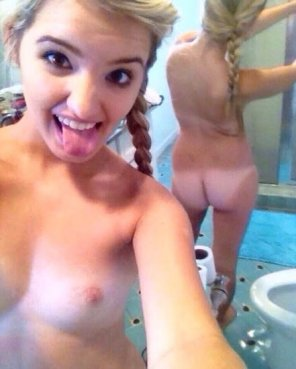 amateur photo Cute Silly Blonde