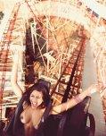 amateur photo Rollercoaster ride