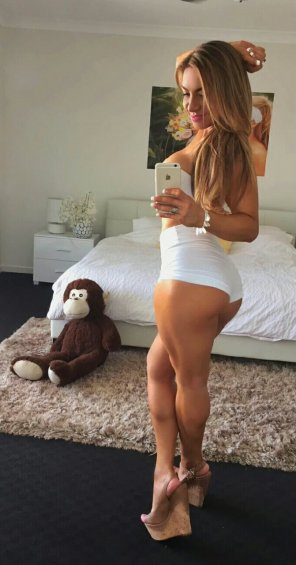 amateur photo Tight Shorts
