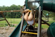 Tamara Jade at the play ground