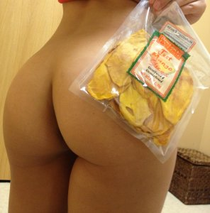 amateur photo Not Just Mango Slices... you like my ass?
