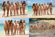 amateur photo One big BFF group in the Caribbeans