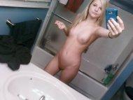 amateur photo mirror angel