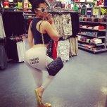 amateur photo Latina booty