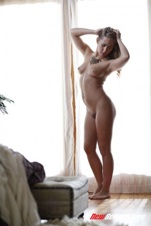 amateur photo Carter Cruise posing in the nude