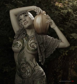 amateur photo Body Painting