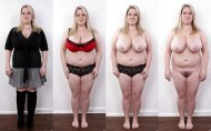 Chubby Girl - Clothed x Unclothed →