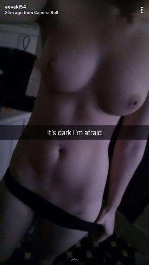 amateur photo Naked and afraid