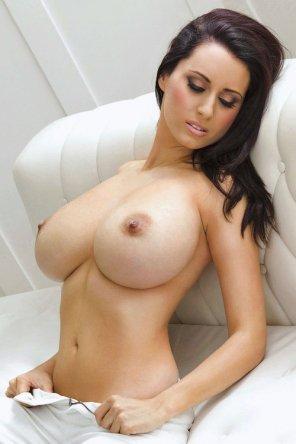 amateur photo Nice brunette