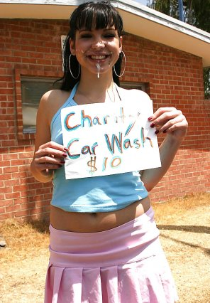 amateur photo Charity Car Wash $10