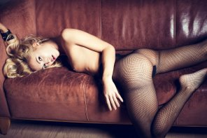 amateur photo Fine fishnets