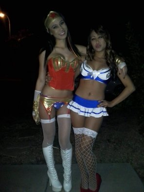 amateur photo Costume party...or, as we call it, who can look the sluttiest!