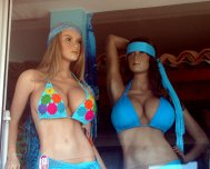 This is what the Mannequins in Venezuela and Panama looks like