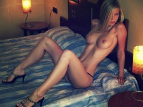 amateur photo Lean and clean lovemaking machine