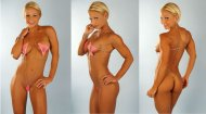 Jamie Eason-Middleton in what could be called a bikini