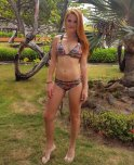 amateur photo Red head Venezuelan