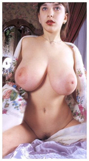 amateur photo Huge Vintage Breast