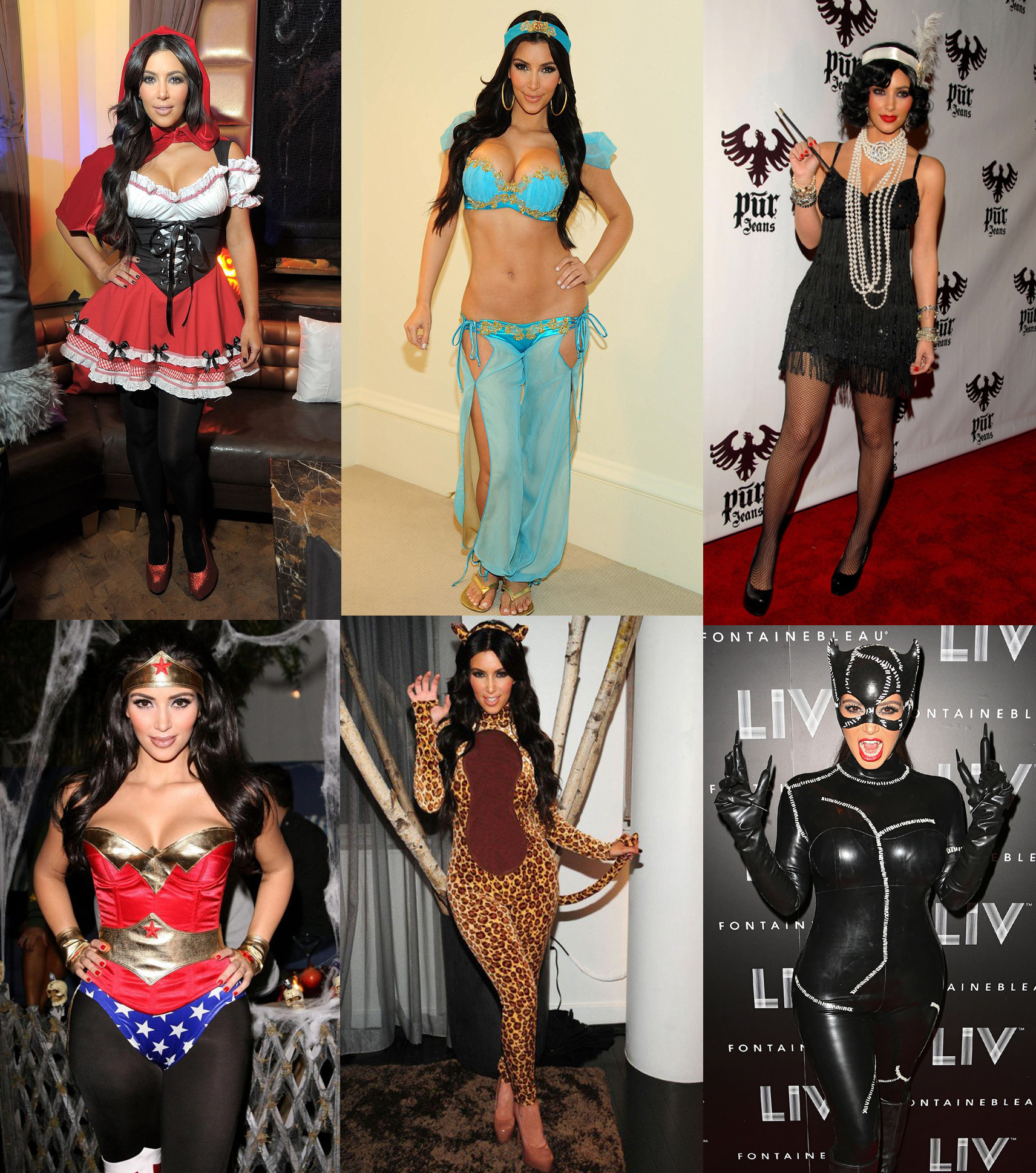 Halloween kim costumes kardashian