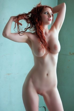 amateur photo Redhead and her pink nipples and pale body