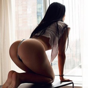 amateur photo Perched on all fours