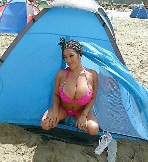 amateur photo Happy Camper