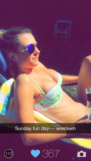 amateur photo Texas Tech hottie on Spring Break