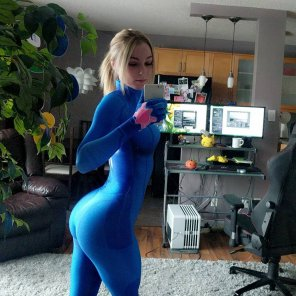 amateur photo Zero Suit Samus