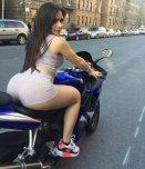 amateur photo Inappropriate riding attire