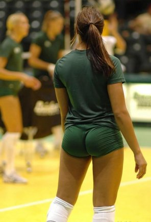 amateur photo Volleyball player.