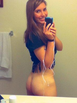 amateur photo Bare bottom