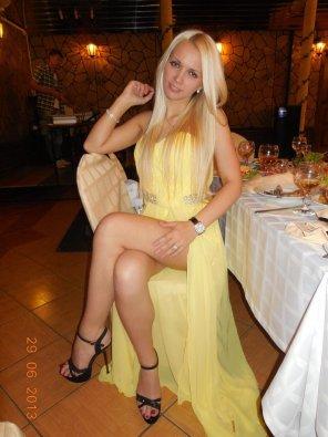 amateur photo Classy Blonde